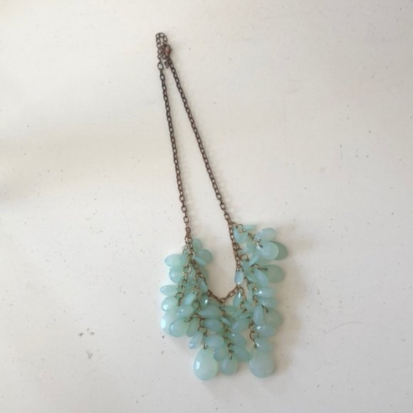 Forever 21 Jewelry - F21 Mint Statement Necklace